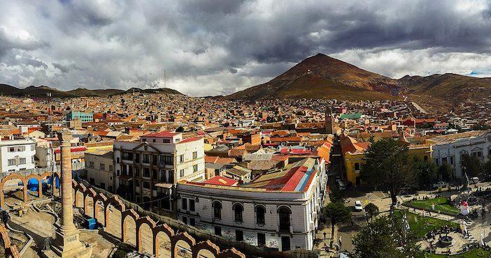 Potosi, vue panoramique