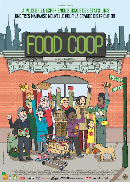 Food Coop, l'affiche du film