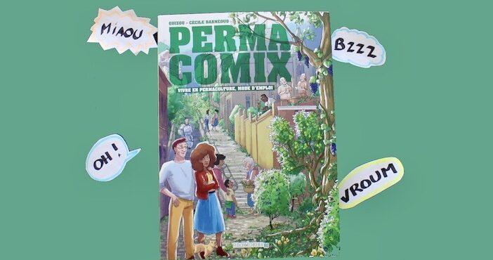 Permacomix, couverture du livre