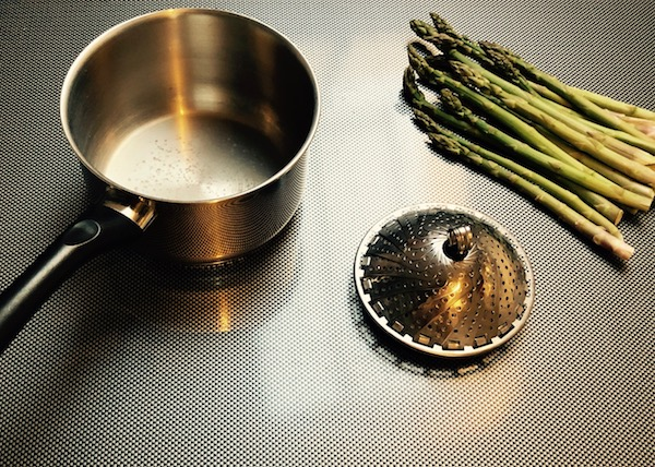le panier marguerite, la casserole, des aliments