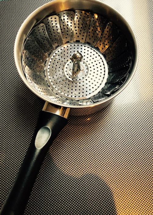 la marguerite dans la casserole