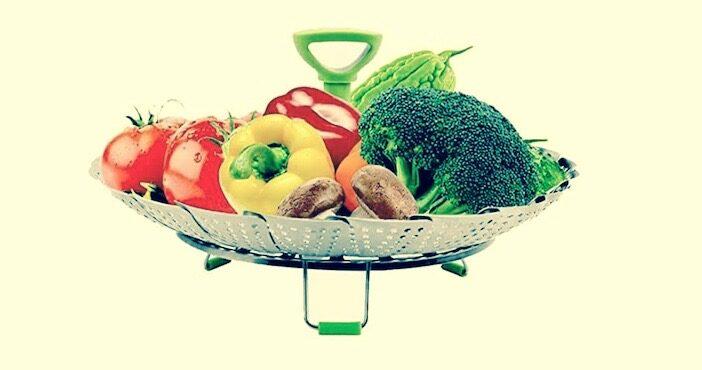 le panier marguerite rempli de légumes