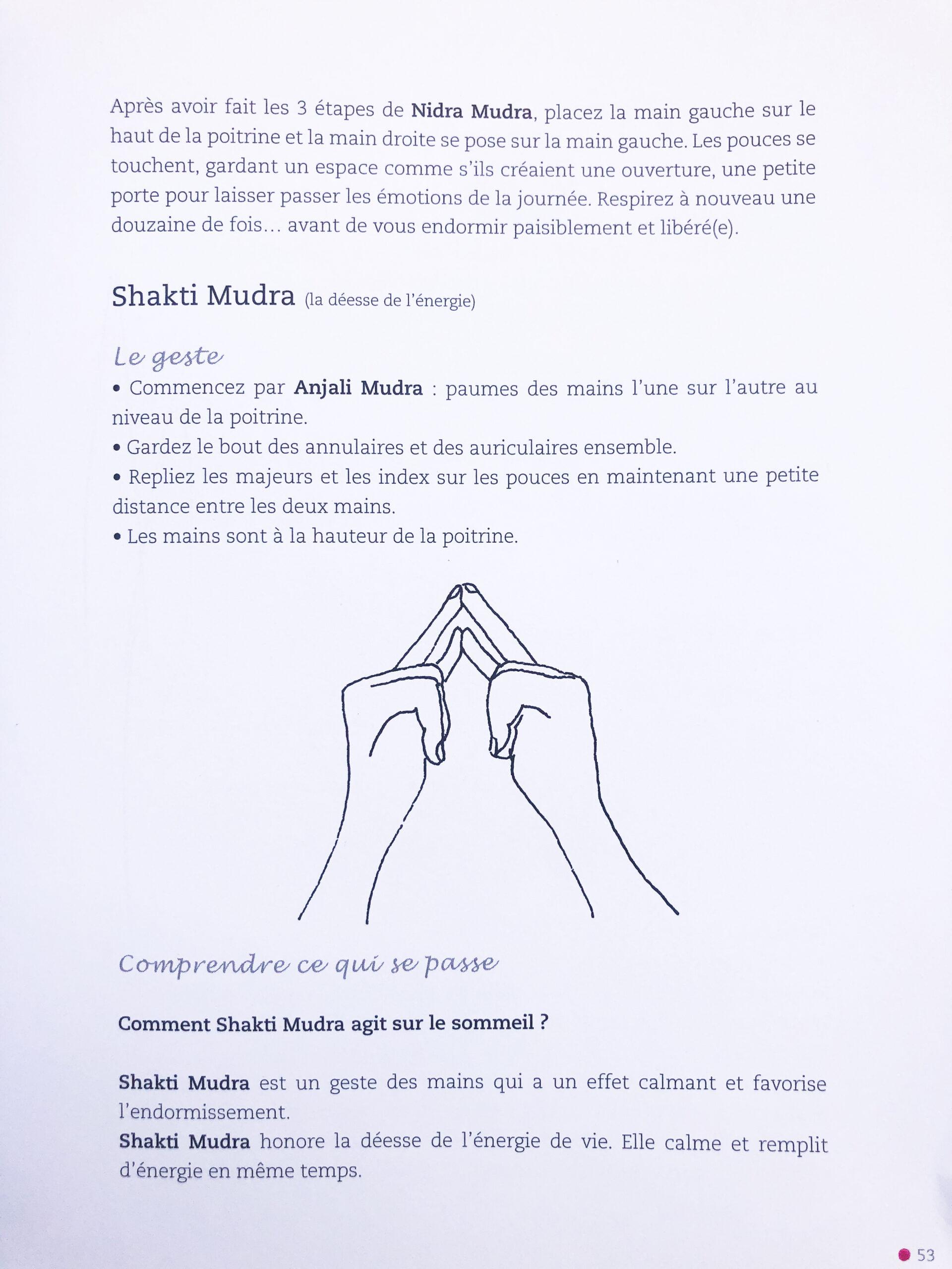 Mudra, le yoga des doigts (page 53))