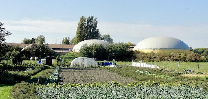 La méthanisation agricole, Somain (Nord)
